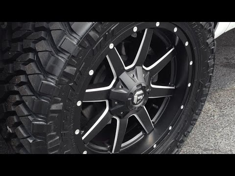 Fuel Maverick Wheels On Ford F 150 Raptor Youtube