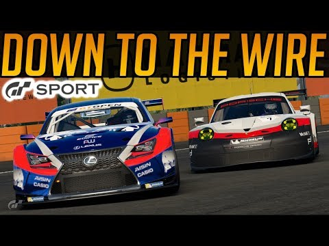 Gran Turismo Sport: Down To The Wire! thumbnail