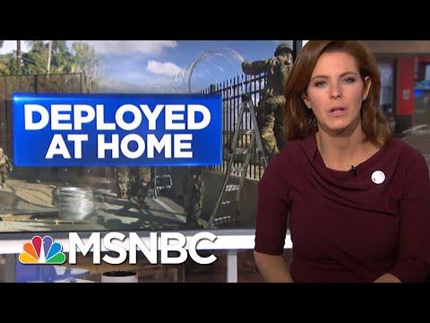 Jim Mattis Anticipates More Troops At Southern Border Through Holidays | Velshi & Ruhle | MSNBC