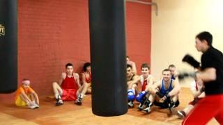 боксерский зал Легенда тренер Андрей Малыгин