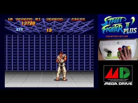 [2/4] STREET FIGHTER II DASH PLUS - CHAMPION EDITION(Genesis)
