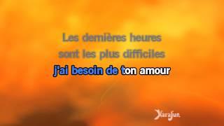 Karaoké Le lundi au soleil - Claude François *