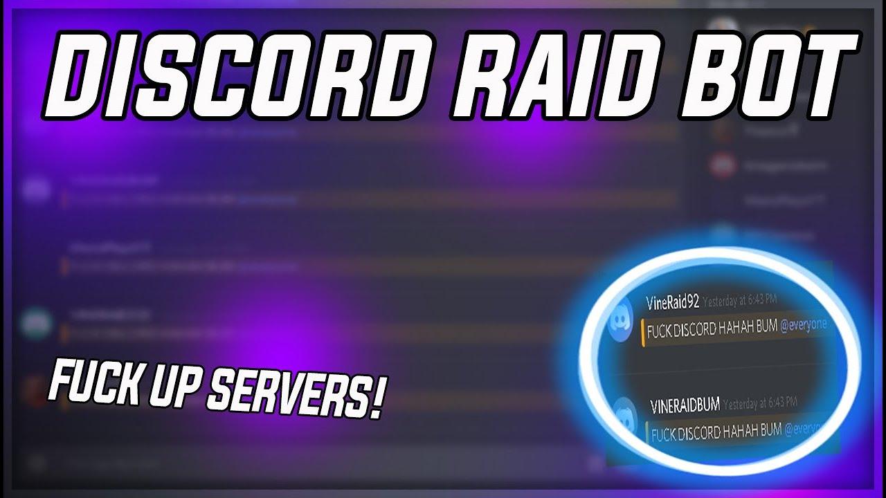 NEW DISCORD RAID TOOL