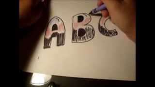 How to Draw Bubble Letters for Beginners