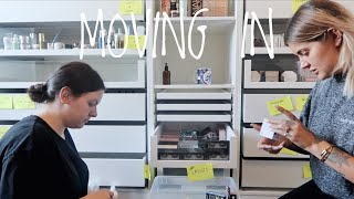 MOVING INTO MY NEW BEAUTY ROOM - VLOG | JAMIE GENEVIEVE