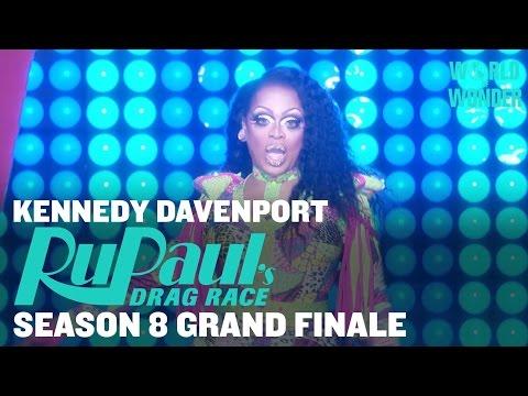 Kennedy Davenport: Audience Warmup - RuPaul's Drag Race Season 8 Grand Finale