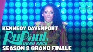 Kennedy Davenport: Audience Warmup - RuPaul's Drag Race Season 8 Grand Finale
