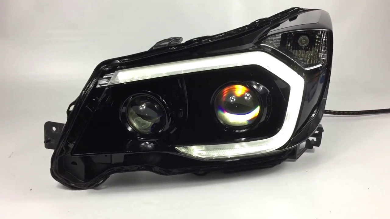 Subaru Forester - Quad Projector Conversion - Custom Headlights