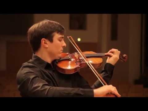 Stepan Lavrov - N. PAGANINI Caprice, No. 23, Op. 1