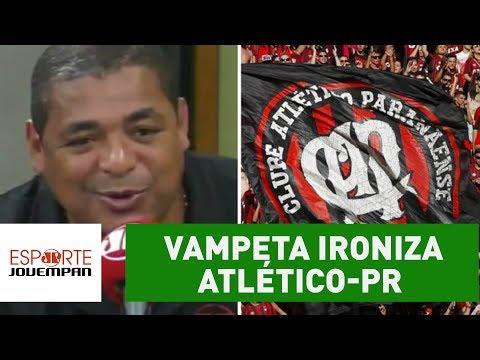 """Vampeta ironiza Atlético-PR por vôlei na Arena da Baixada: """"legal"""""""