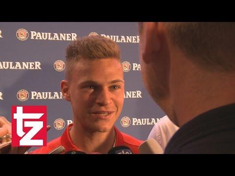 """Bayern-Spieler Joshua Kimmich: """"Möchte Bayern nicht verlassen."""""""