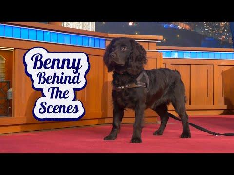 Benny Colbert Behind The Scenes