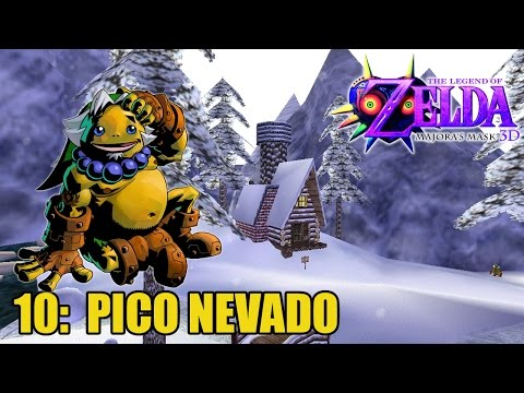 The Legend of Zelda: Majora's Mask 3D #10- PICO NEVADO - Guía 100% en español