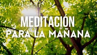 MEDITACIÓN DE LA MAÑANA 15 MINUTOS   MEDITACIÓN PARA INICIAR EL DÍA   ❤ EASY ZEN