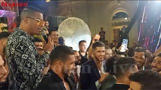 شاكوش يسخر من مروان محسن في زفاف حمدي فتحي: هيسيب الكورة ويغني