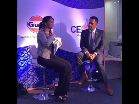 CEO of Gulf Oil India MS DHONI
