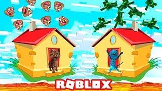 Мини Игры в Roblox! Котёнок Лайк и Котик Игроман роблокс