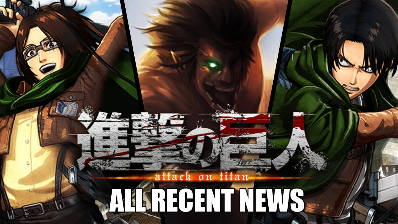 Attack On Titan Game Release Date: Gameplay Has Spoilers Beyond Anime ...