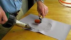 Vinyl Repair heat patch method Carolina CoverTech