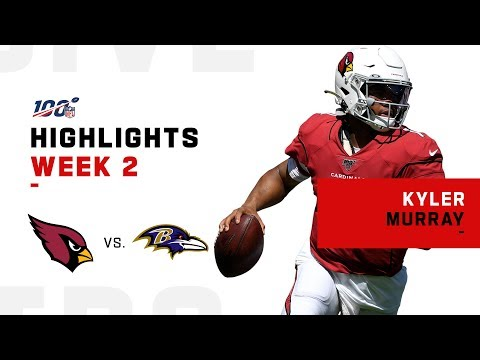 Every Kyler Murray Play vs. Ravens | NFL 2019 Highlights
