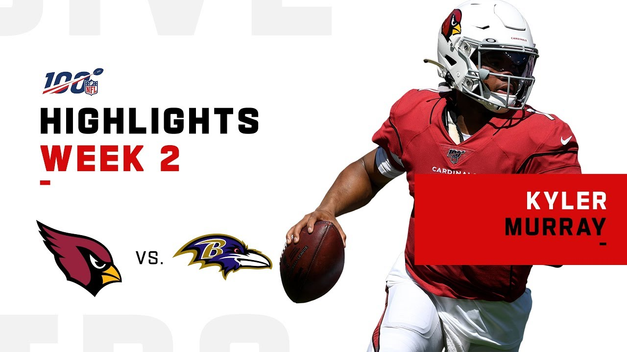 more photos 2065d 84e8f Every Kyler Murray Play vs. Ravens | NFL 2019 Highlights