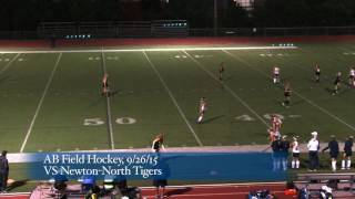 Acton Boxborough Varsity Field Hockey at Newton North 9/26/15