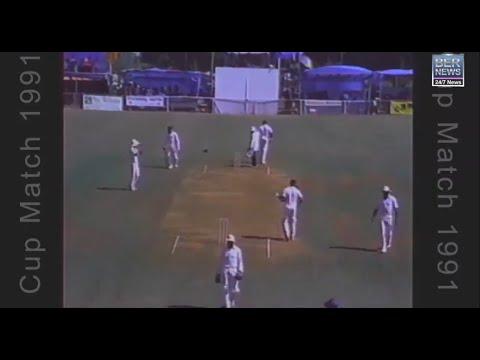 1991 & 1992 Cup Match Highlights via CITV