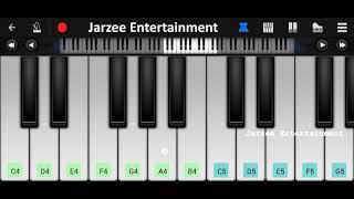 Suraj Hua Maddham (Shahrukh Khan, Kajol) Piano Tutorial | Slow and Easy Mobile Piano Tutorial