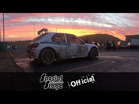 MSN Rally Championship 2017/18 - Round 3 Knockhill