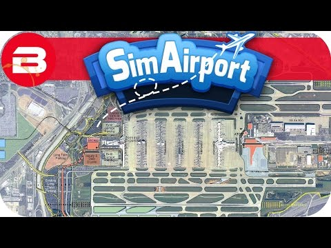 SIM AIRPORT Gameplay - EXPERIMENTAL VERSION & PLANNING TOOL Lets Play SIMAIRPORT Alpha #14