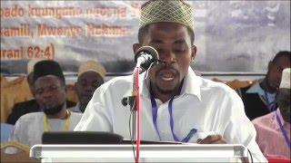 Jalsa Salana Tanzania 2015 - Usomaji Quran Tukufu KIKAO 2 Mwl Athumani Mawingu.mp4