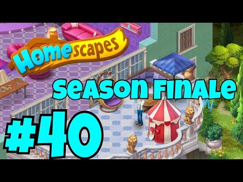 HOMESCAPES Gameplay Story Walkthrough Part #40  Party Room Day 4 Ending