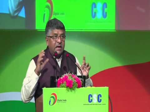Shri Ravi Shankar Prasad, Honourable Minister ( Electronics & Information Technology, Law & Justice)