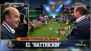 Juanma Rodríguez RECREA las ACTUACIONES de Messi con el 'HATTRICKÍN'