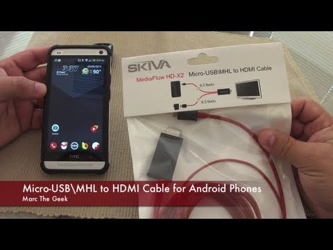 MediaFlow Cable - Mirror Android Phone to TV (Read Update)