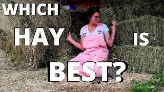 What type of HAY should you get for your goats!