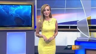 Las noticias del cielo - Máxima de 37 grados centígrados para mañana jueves con Gaby Lozoya