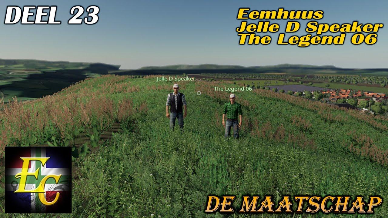"Farming simulator 2019 Niedersachsen ""Laatste keer!"" Eemhuus. Jelle D Speaker en Legend 06!"