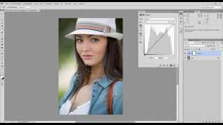 Обработка фотографии Усиление объема в портерной фотографии