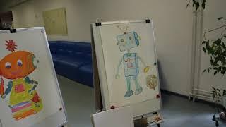 Рисуем робота Мастер-класс