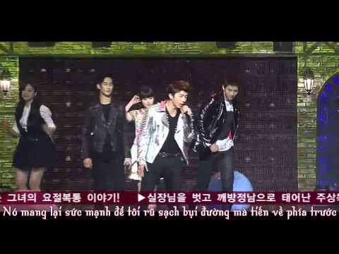 [Vietsub] Dream High Live - IU, Kim Soo Hyun,Taecyeon, Eunjung, Suzy, Wooyoung