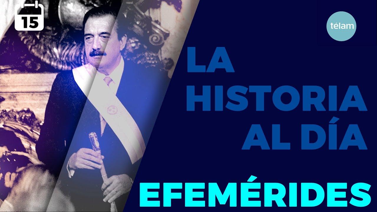 LA HISTORIA AL DÍA (EFEMÉRIDES 15 DICIEMBRE)