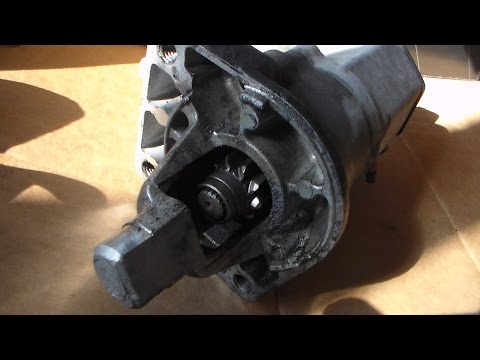How To Replace The Starter On 2005 Dodge Grand Caravan Part 1