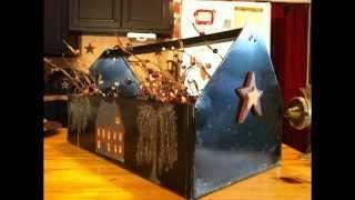 Metal Tool Box - Country Decorating Ideas 2012