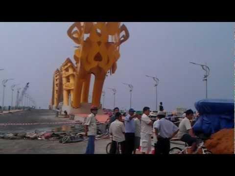 Cầu Rồng Sông Hàn Đà Nẵng.