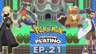 Gameplay Live Pokémon Platino #21 - LA LEGA DI SINNOH