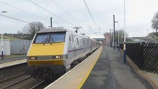 East Coast InterCity 225s at speed (ECML)