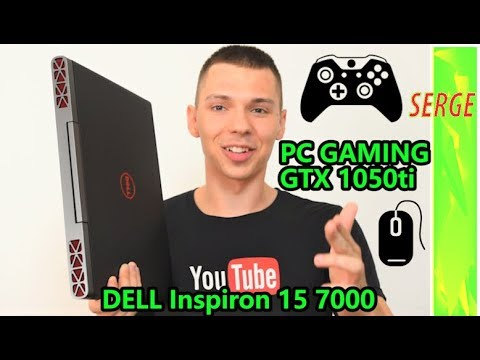 DELL Inspiron 15 7000 Gaming TEST Performance Review GTX 1050ti