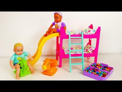 Baby Doll Bedtime Feeding And Playing Playset For Kids