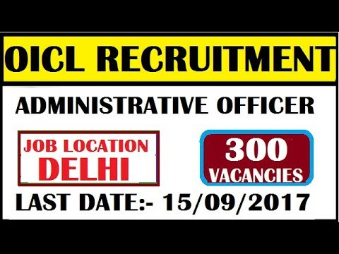DELHI GOVERNMENT JOBS ||2017 ||APPLY NOW